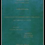 Determinazione, indeterminismo e libertà negli apporti della cibernetica alla filosofia, Tesi di Laurea in Storia e Filosofia