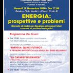 Convegno Energia: prospettive e problemi