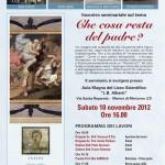 Locandina Conferenza sulla figura paterna